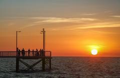 Sunset at Nightcliff Jetty (Darwin)