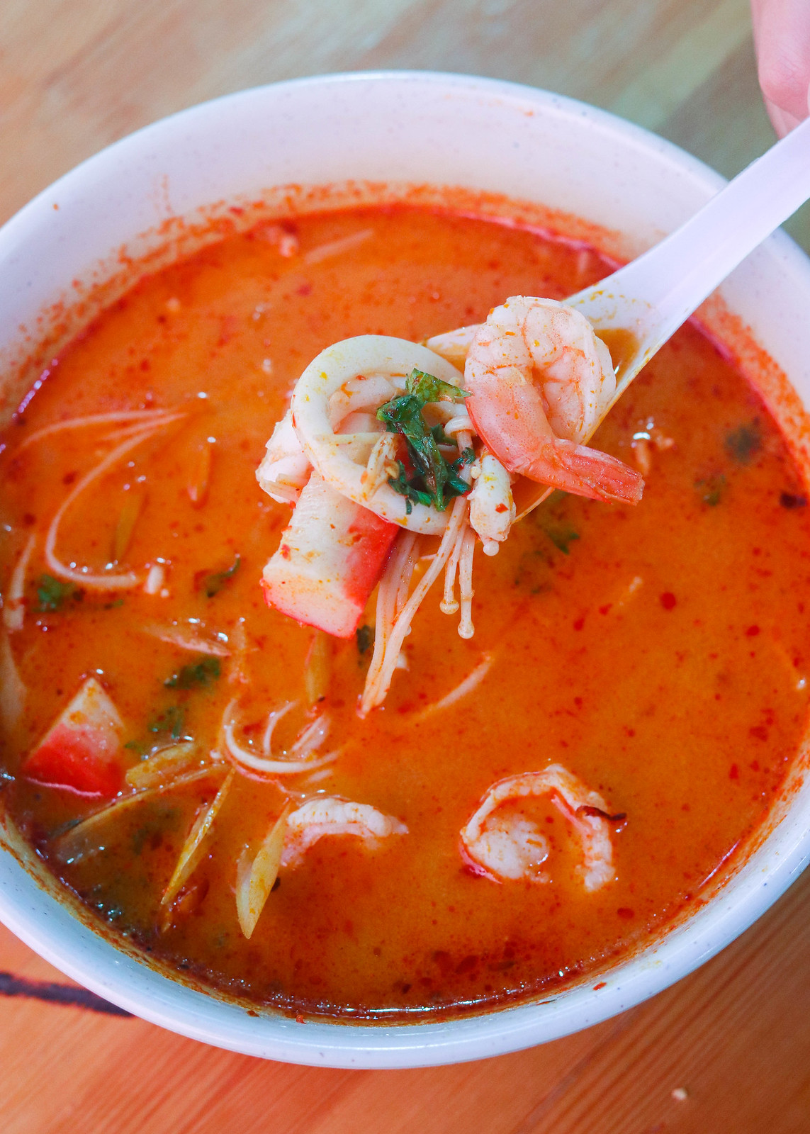 Bugis Street Food: Maenoi Tom Yum