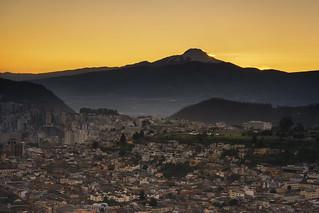 Cayambe volcano, Quito