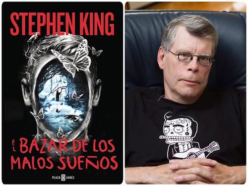 """""""EL BAZAR DE LOS MALOS SUEÑOS"""" de Stephen King"""