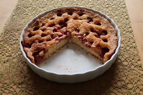Sommerkuchen mit Erdbeeren (Rest)