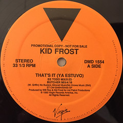 KID FROST:THAT'S IT(YA ESTUVO)(LABEL SIDE-A)