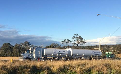 KENWORTH, New England & Golden Highways intersection at Belford, NSW. Truck lovers paradise.