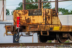 MTTX 942703 | Flat Car | NS Memphis District