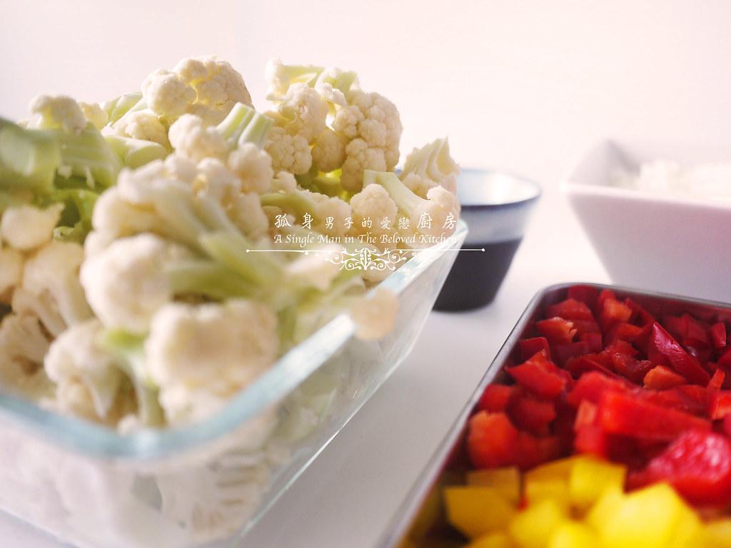 孤身廚房-Staub媽咪鍋煮超滿的印度蔬食花椰菜咖哩6