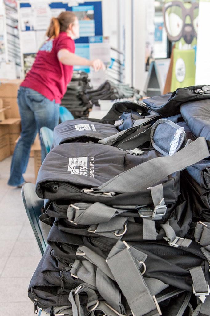 SQL Saturday Rheinland - Taschenpacken - Foto von Dirk Hondong - Flickr