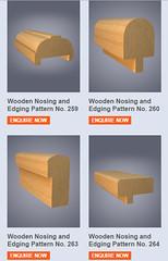 Timber Profiles - Nosing and Edging