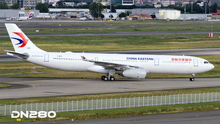 China Eastern A330-343 msn 1809