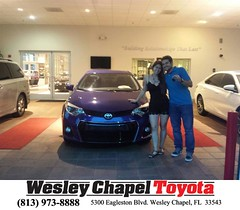 #HappyBirthday to Francisco from Aiman Sabbah at Wesley Chapel Toyota!