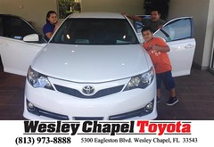 #HappyBirthday to Jose from Ross MacDonald at Wesley Chapel Toyota!
