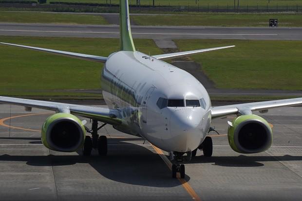 170625 鹿児島空港ソラシドエアーボーイング737-800