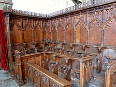 Arundel Castle - The Fitzalan Chapel - Choir Stalls and Misericords