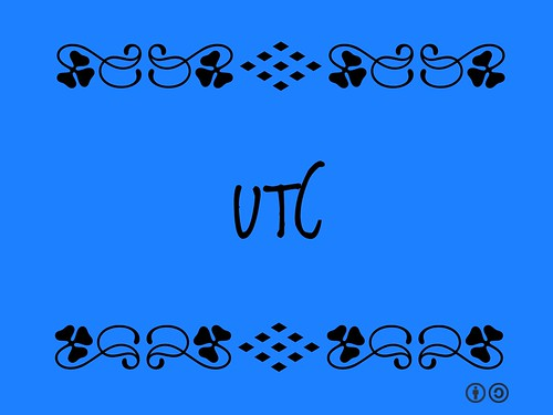 UTC = Coordinated Universal Time (French: Temps universel coordonné)