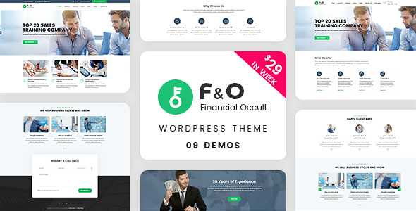 F&O WordPress Theme free download