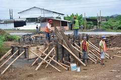 Estación de bombeo en ciudadela 30 de Marzo registra avance del 65%