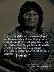Educational Postcard: Research shows that effective teachers do make a difference