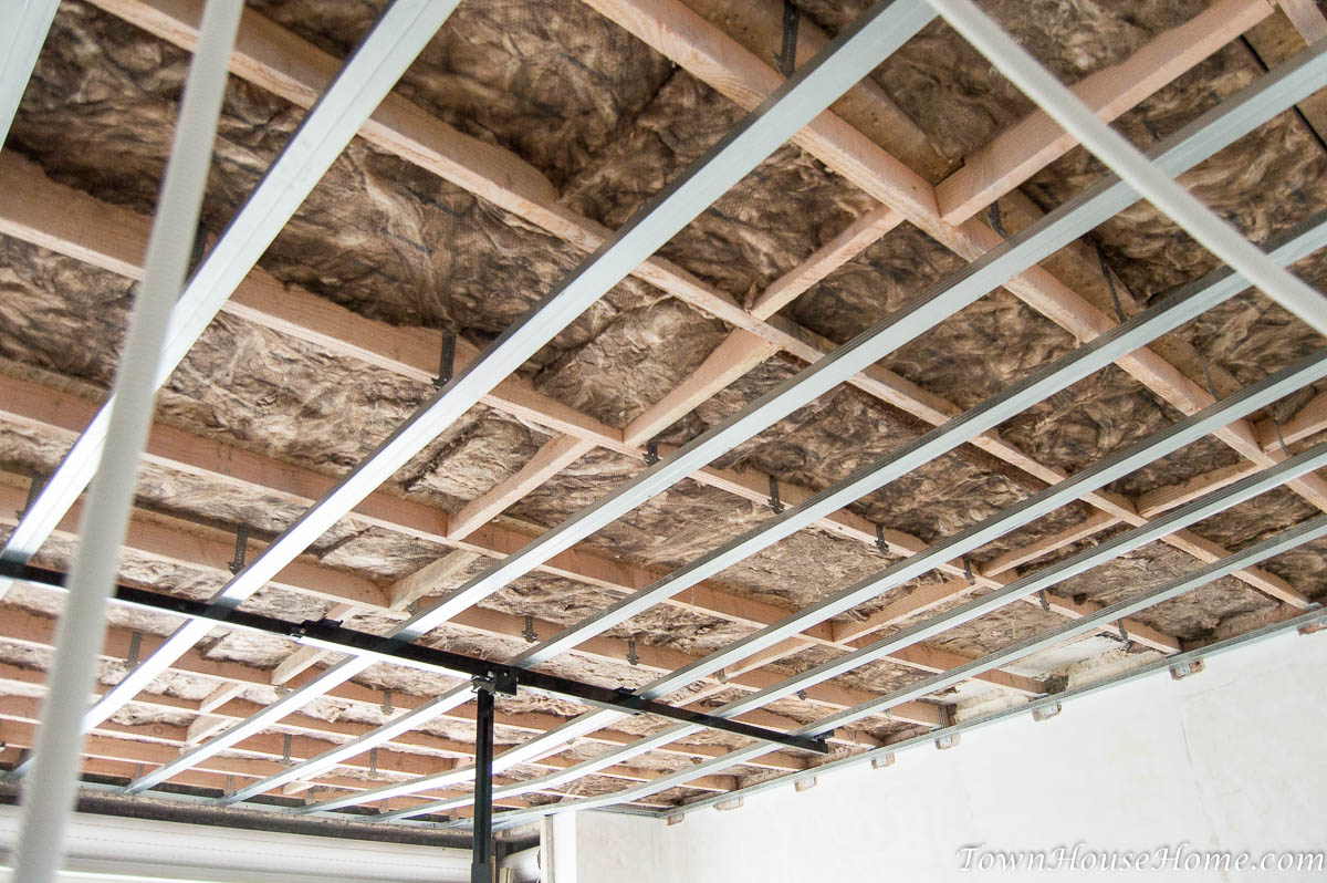 First floor ceiling frame