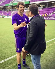 Riccardo Silva and Kaka