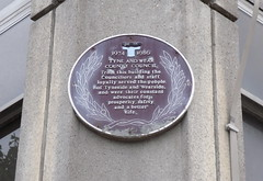Photo of Tyne and Wear County Council brown plaque
