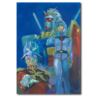 銀座 蔦屋書店「日本漫畫家 安彥良和」特展 《機動戰士鋼彈THE ORIGIN》複製原畫限定販售!