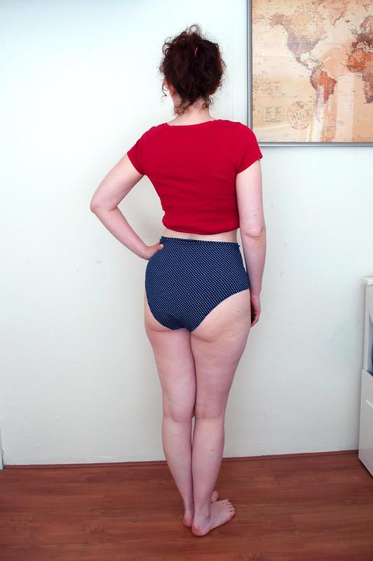 Maxine panties-blue polkadot