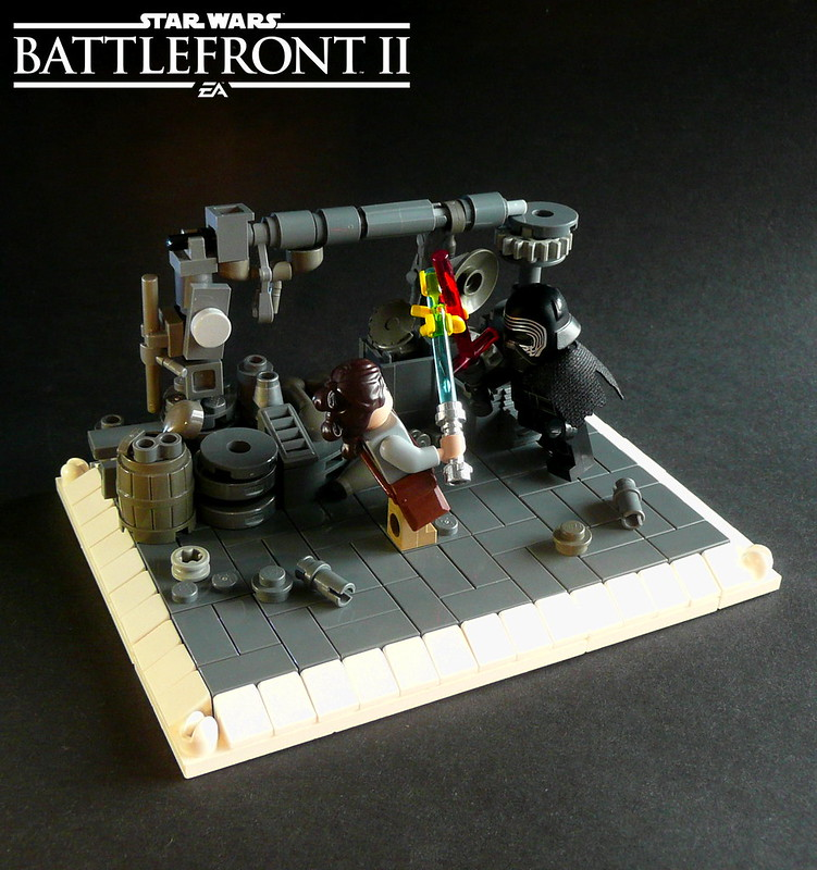 star wars battlefront ii showdown in maz kanata 39 s castle lego bei. Black Bedroom Furniture Sets. Home Design Ideas