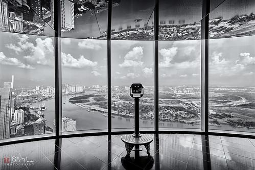 saigon hochiminhcity vietnam bitexcotower bitexcofinancialtower view landscape architecture travel scenic river window monochrome bnw bw blackandwhite a7rii sony ilce7rm2 samyang 14mm