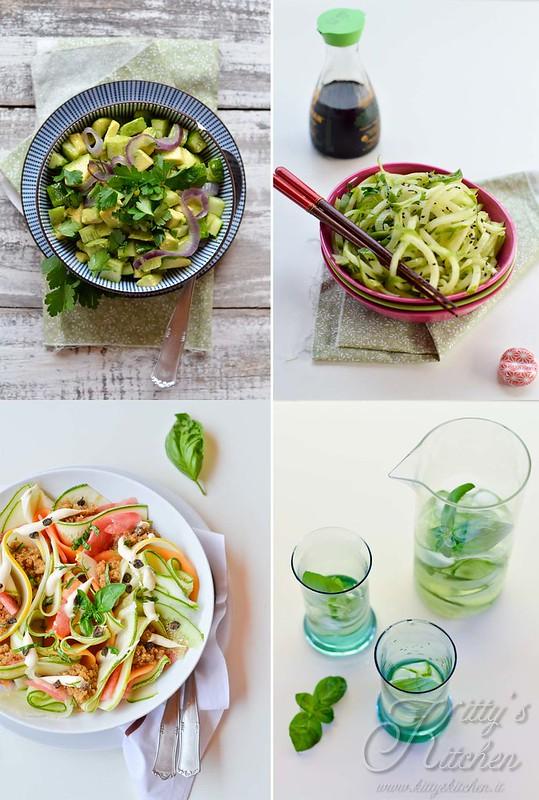 4 idee con i cetrioli