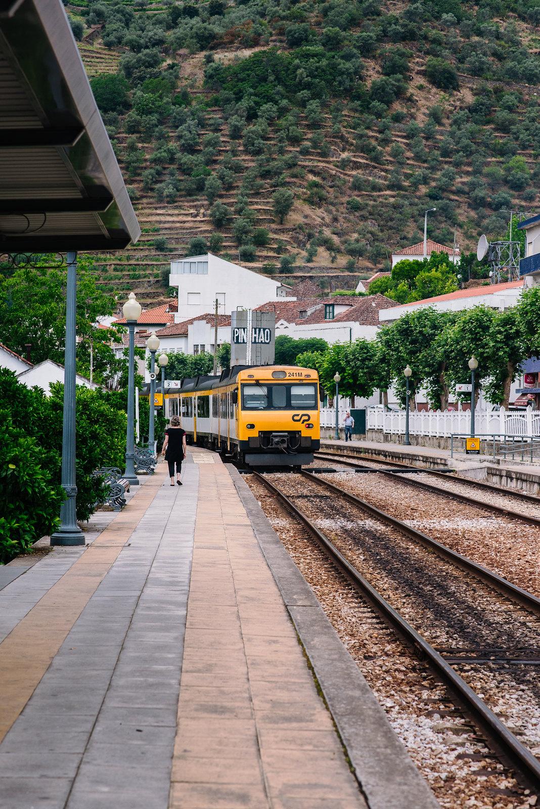 Pinhao vonatállomás
