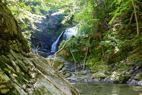 mossglenfalls stowe vermont waterfall