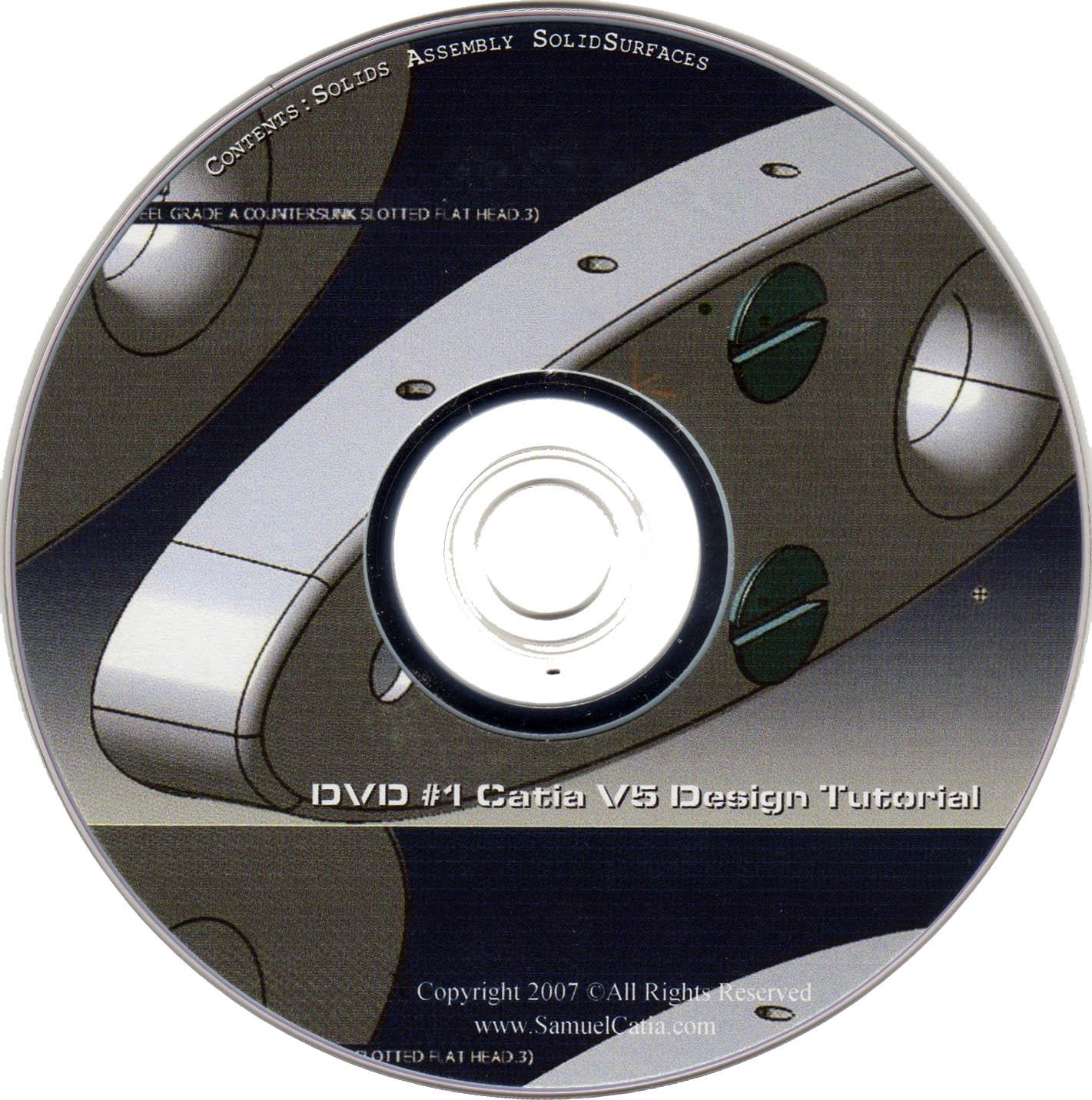 catia v5 training dvd