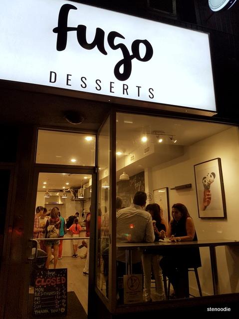 Fugo Desserts storefront