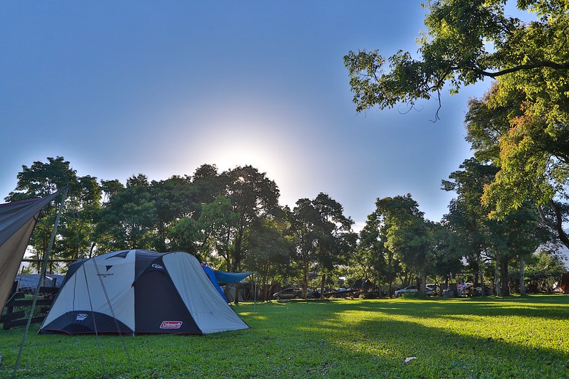 早晨的營地