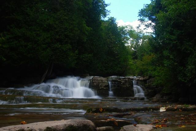 Stockbridge Falls, Stockbridge NY, Nikon D80, AF Zoom-Nikkor 24-50mm f/3.3-4.5D