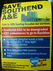 SAVE Southend A and E
