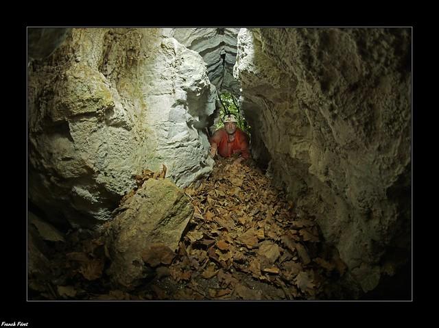Petite Grotte du Ruisseau de la Vau - Eternoz (inedite)