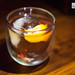 Harajuku Negroni - Byrrh, gran classico, Nikka Coffey grain whisky with orange twist