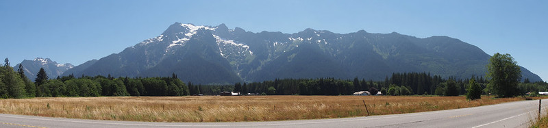 Boulder River Mountains: Among others, Whitehorse Mountain, Mount Bullen, Jumbo Mountain, French Peak, and Mount Ditney.