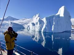 Schiffsreise Antarktische Halbinsel. Eisberg an der Antarktischen Halbinsel. Foto: Rainer Schenk.
