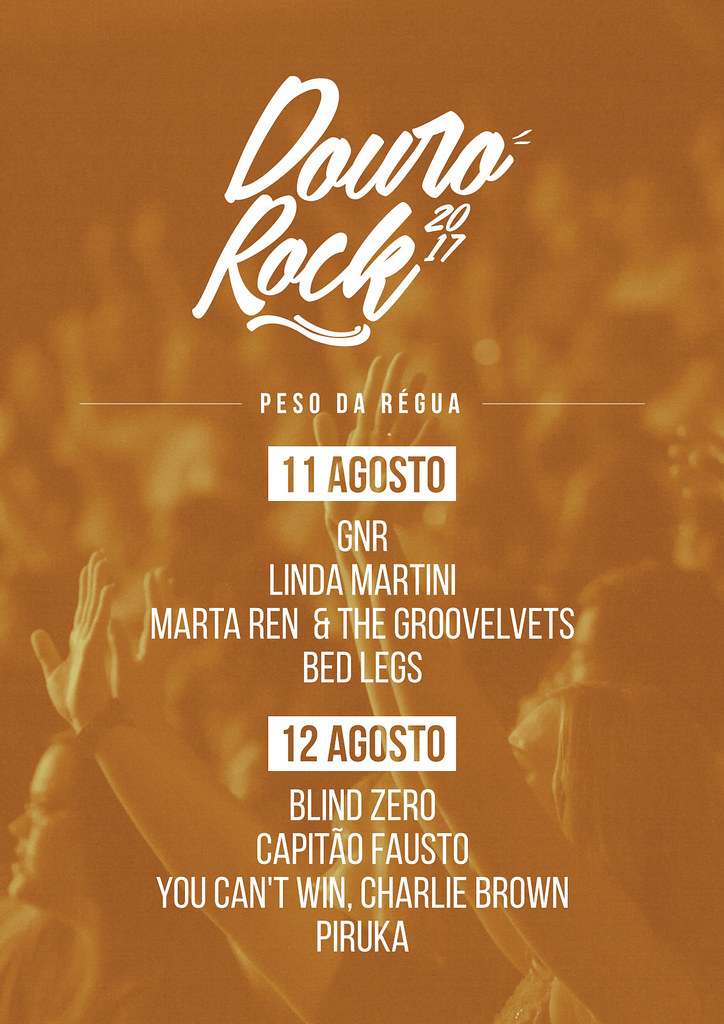 Cartaz Douro Rock