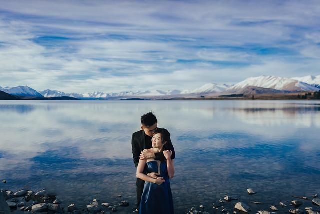 New Zealand, South NZ, Sunset, Lake Tekapo