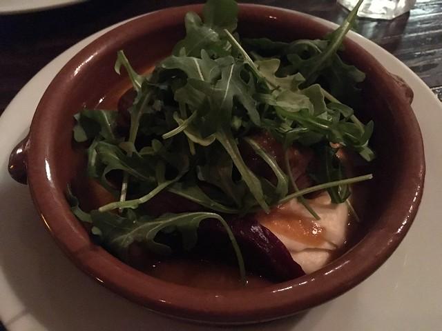 Pork cheeks - La Cosecha Bar and Restaurant
