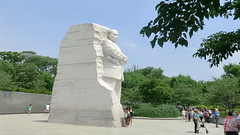 Washington D.C.: Martin Luther King, Jr. Memorial - A STONE OF HOPE @ Independence Avenue