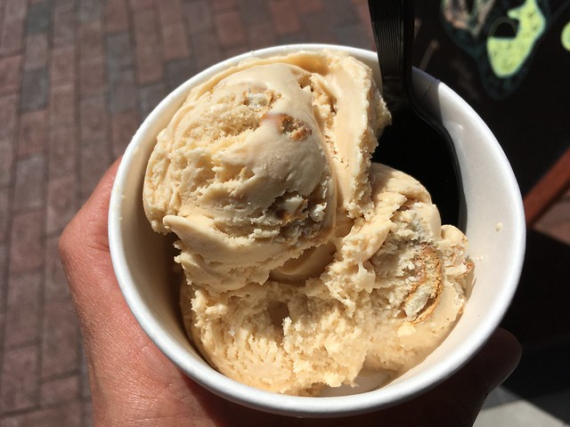 Salted caramel ice cream - Annapolis Ice Cream Company