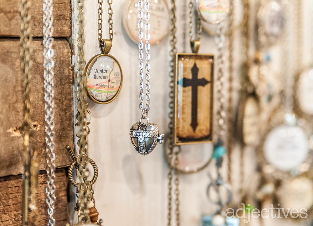 handmade Necklaces in Winter Garden by The Old Crow