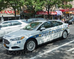 Columbia University Public Safety Car, Hamilton Heights, New York City