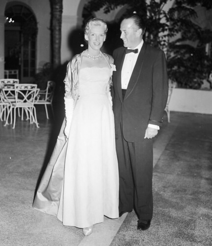 Viscount and Viscountess Paul DeRosiere, 1950s | by The Bert Morgan Archive