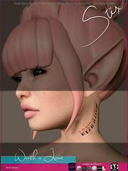 Stix Wrath is Love NECK TATTOO Ad