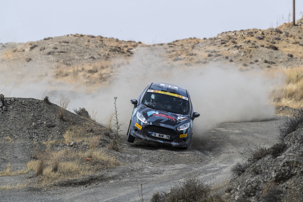 22 FAHRI Deniz (tur) and KALFAOGLU Baris (tur) DENIZ FAHRI FORD FIESTA R2 action during the 2017 European Rally Championship ERC Cyprus Rally,  from june 16 to 18  at Nicosie, Cyprus - Photo Gregory Lenormand / DPPI