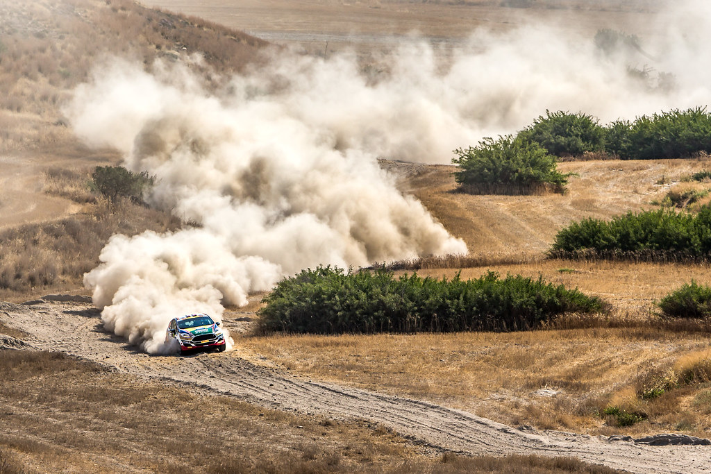 17 BANAZ Bugra (tur) and ERDENER Burak (tur) CASTROL FORD TEAM TÜRKIYE FORD FIESTA R2 action during the 2017 European Rally Championship ERC Cyprus Rally,  from june 16 to 18  at Nicosie, Cyprus - Photo Thomas Fenetre / DPPI